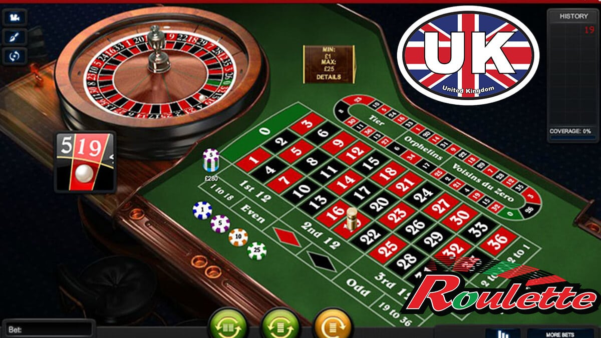 Playing roulette online in the UK